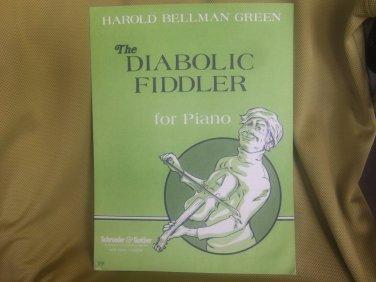 Harold Bellman Green The Diabolic Fiddler sheet music