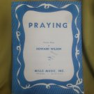 praying piano solo sheet music