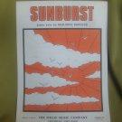 Sunburst SHEET MUSIC