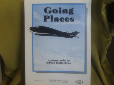 Going Places sheet music - Piano/Keyboard sheet music by Edwin Robertson