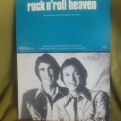 Rock 'n' Roll Heaven sheet music by The Righteous Brothers