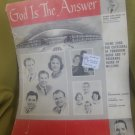 God Is the Answer (Theme Song for Cathedral of Tomorrow Radio Sheet music