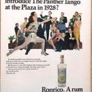 1967 ron rico puerto rico rum advertisement ad panther tango at the plaza dance