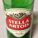 Stella Artois Beer Bottle Glass Recycled Glass Bottle.