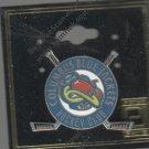 Vintage Columbus Hockey Club Lapel Pin - David Peters