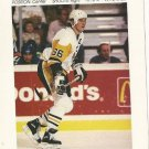 "1991 Coca-Cola Elby's Big Boy 4"" x 6"" Mario Lemieux Pittsburgh Penguins Card"