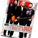 Guitar World September 2009 Jack White Jimmy Page The Edge Woodstock Spinal Tap
