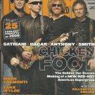 Guitar World Magazine June 2009 Dhani Harrison, Chickenfoot