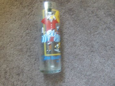 1988 Jim Beam Official Spiral Festival/Beam Stakes Collectible Glass