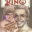 The Ring Magazine Sanchez Leonard 100 Page Double Issue March 1982