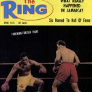 The Ring Magazine April 1973 George Foreman Joe Frazier