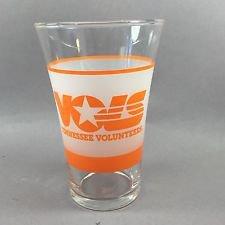 TENNESSEE VOLUNTEERS ORANGE GLASS - SHELL OIL EDITION VOLS
