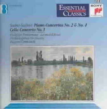Saint-saens:piano Ctos. 2 & 4/cello 1