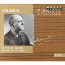 SOLOMON - GREAT PIANISTS OF THE 20TH CENTURY