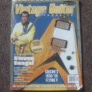 Vintage Guitar Magazine January 2006 Steven Seagal