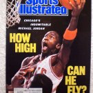 1989 March 13th Sports Illustrated Michael Jordan Bulls How High Can He Fly?