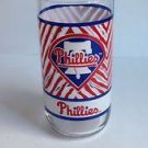 "PHILADELPHIA PHILLIES McDonald's Coca Cola Coke promo glass 6""H w/Liberty Bell"