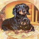 Danbury Mint DACHSHUND Weiner Dog Pride and Joy Limited Edition Doxie Plate