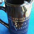 Imported Black Velvet Blended Canadian Whiskey Pitcher