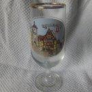rothenburg souvenir glass