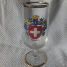 SWITZERLAND schweiz souvenir glass