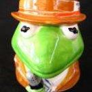 Kermit the Frog Shaped Muppet News Ceramic Coffee Mug/Cup 10 oz