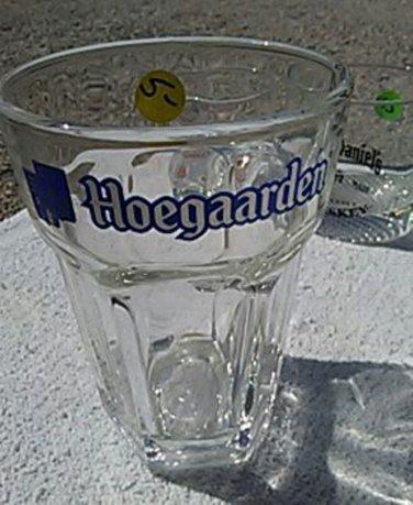 Hoegaarden beer glass