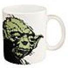 Zak Designs Star Wars Yoda Ceramic Coffee Cup