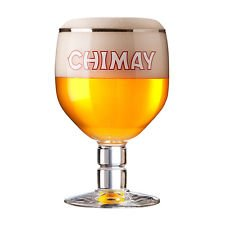 Chimay Belgian Ale Chalice/Goblet Beer Glass 0.33L