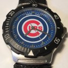Chicago Cubs Game Time Men's Agent Series Wrist Watch with Metal Box