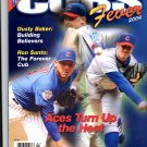 2004 CHICAGO CUBS MLB BASEBALL CUBS FEVER MAGAZINE WRIGLEY FIELD