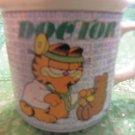 Garfield Doctor Coffee Mug Cup Garfield World's Greatest Doctor Ceramic Mug 1978