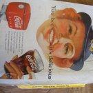 Coca Cola Advertisement WAC You Bet It's Delicious Vintage