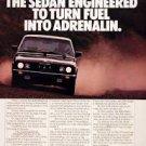 1983 BMW 533i Sedan vintage ad