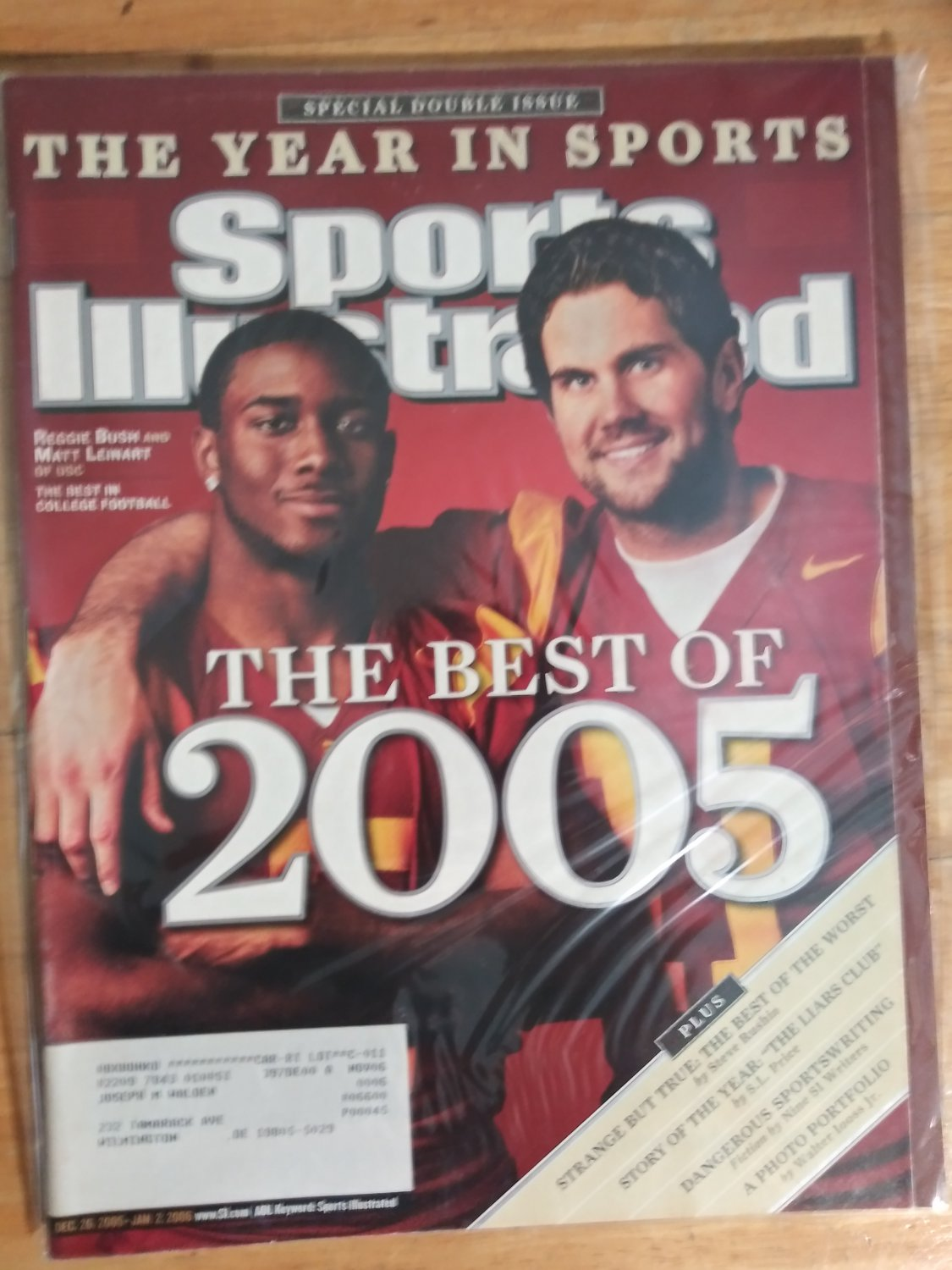 Sports Illustrated, December 26, 2005-January 2, 2006