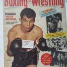 BOXING AND WRESTLING MAGAZINE NOVEMBER 1955 WILLIE PASTRANO