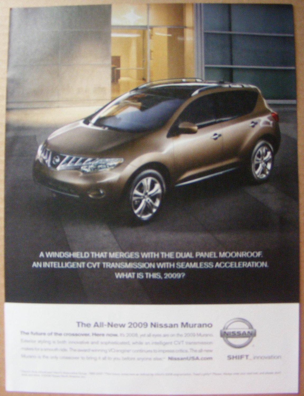 Nissan Murano original magazine print advertisement