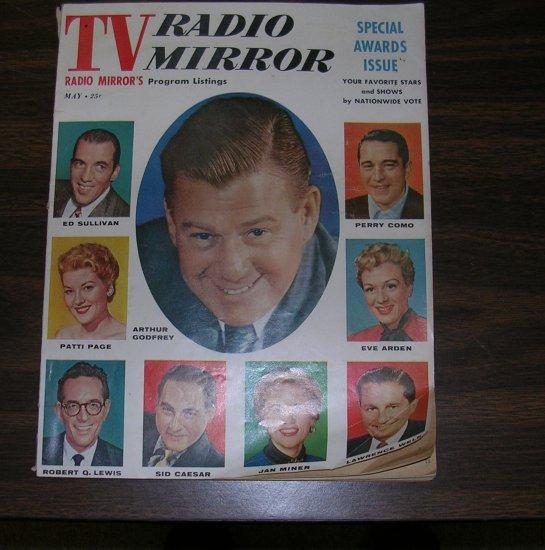 Vintage TV Radio Mirror May 1956 Special Awards Issue