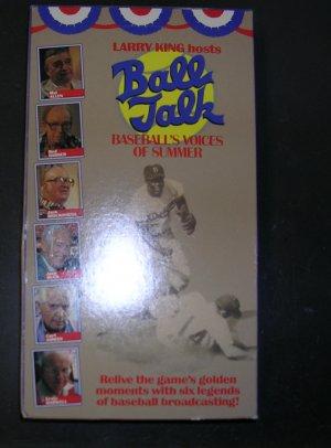 Ball Talk Baseball's Voices of Summer VHS tape