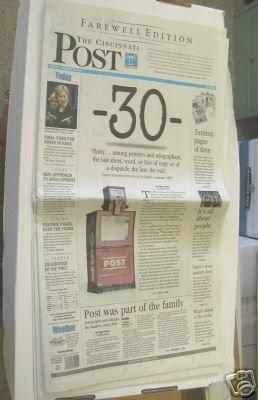 Cincinnati Post Final Edition 12/31/07