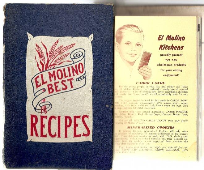 Vintage El Molino Best Recipes Cookbook 1953 includes Allergy Recipes too