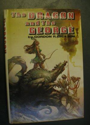 The Dragon & The George by Gordon Dickson 1976 BOMC Edition