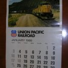 1988 Union Pacific Railroad Wall Calendar