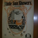 Little Sun Showers by Bob Nelson Vintage Sheet Music 1921