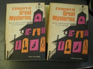 A Treasury of Great Mysteries edited by Haycraft & Beecroft, 1957