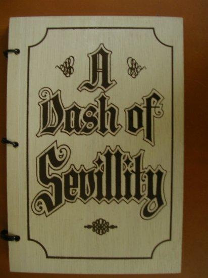 A Dash of Sevillity Cookbook Pensacola Heritage Foundation 1971