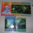 Roger Zelazny Amber Novels The Merlin Cycle set of 5