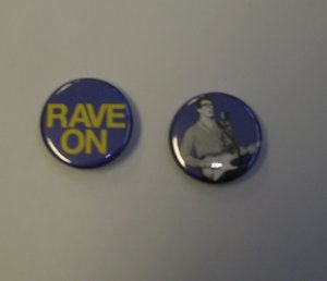 Buddy Holly Rave On Pins