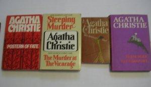 Agatha Christie novels - Lot of 4