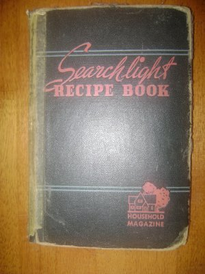 Vintage Searchlight Recipe Book by Household Magazine 1943